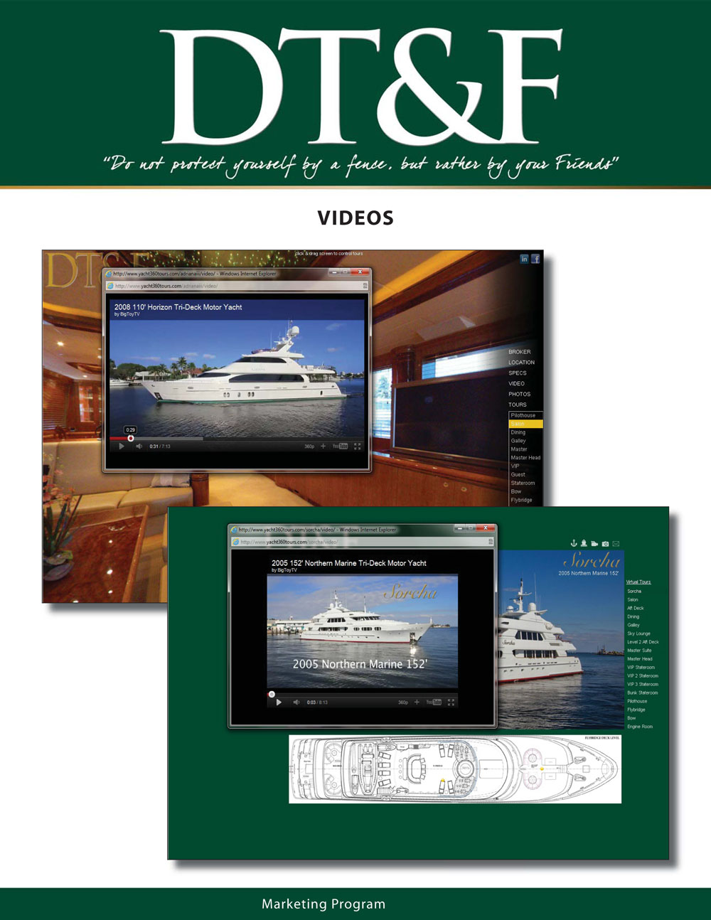 DT&F Yacht Sales Marketing Program picture 12