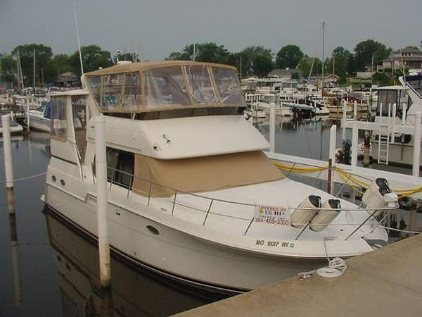 42 Carver 406 Aft Cabin Motor Yacht 2001 Dwight Tracy