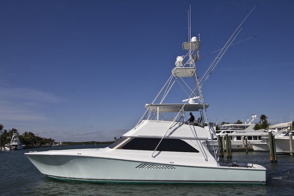 New DT&F Central Listing!  2001 Viking 55' Convertible
