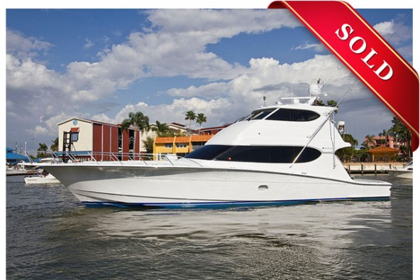 2006 Hatteras 68' Enclosed Bridge SOLD!!